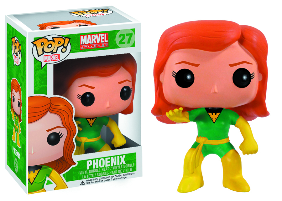 POP MARVEL PHOENIX EMERALD CITY CC EXCL VINYL FIG
