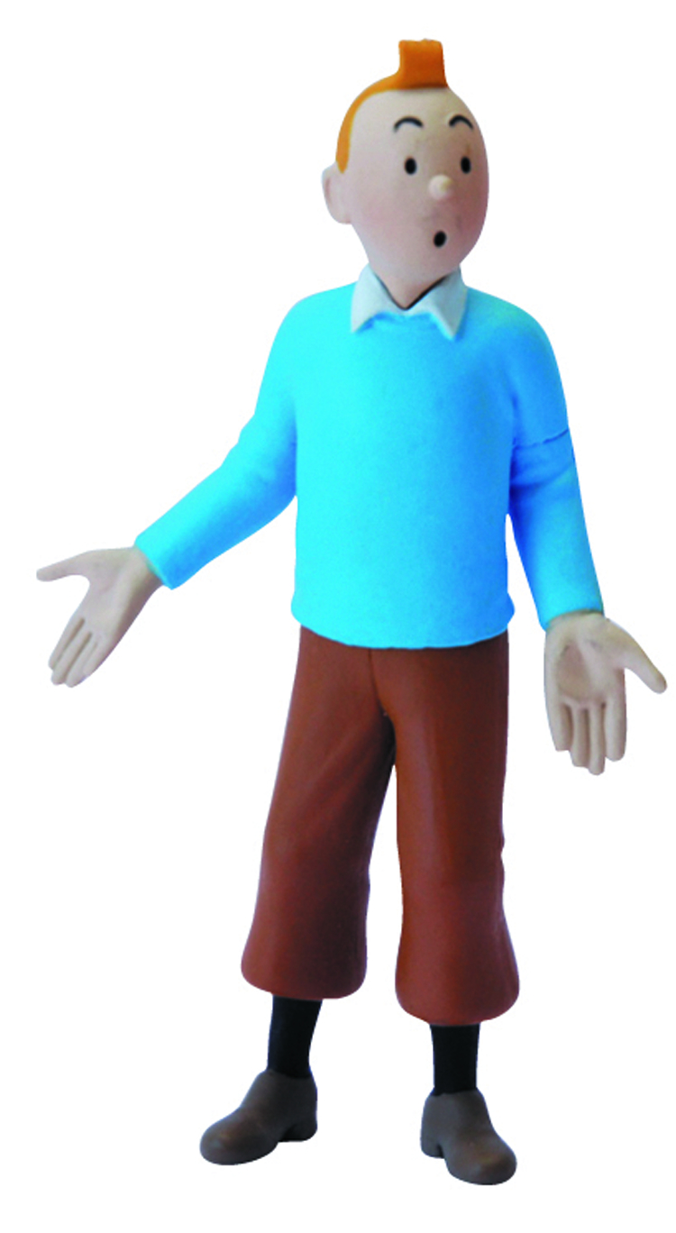 TINTIN TINTIN BLUE SWEATER 9CM PVC FIGURE