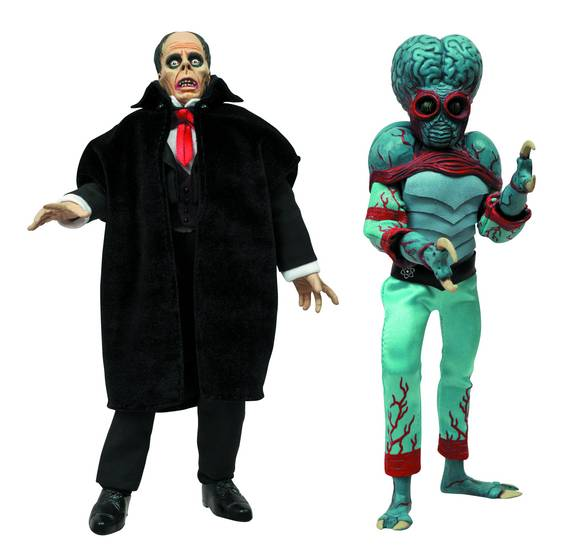 UNIVERSAL MONSTERS RETRO CLOTH SERIES 4 AF ASST