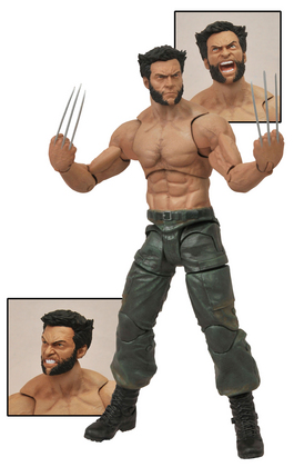MARVEL SELECT WOLVERINE 2 MOVIE AF