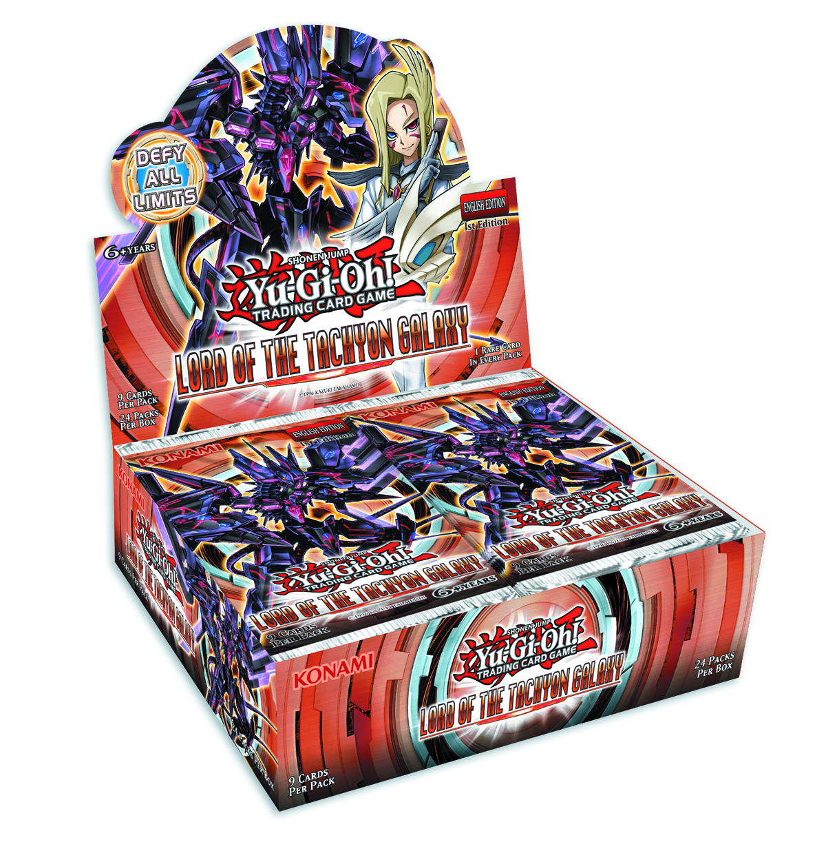 YU GI OH TCG LORD OF TACHYON GALAXY BOOSTER DIS