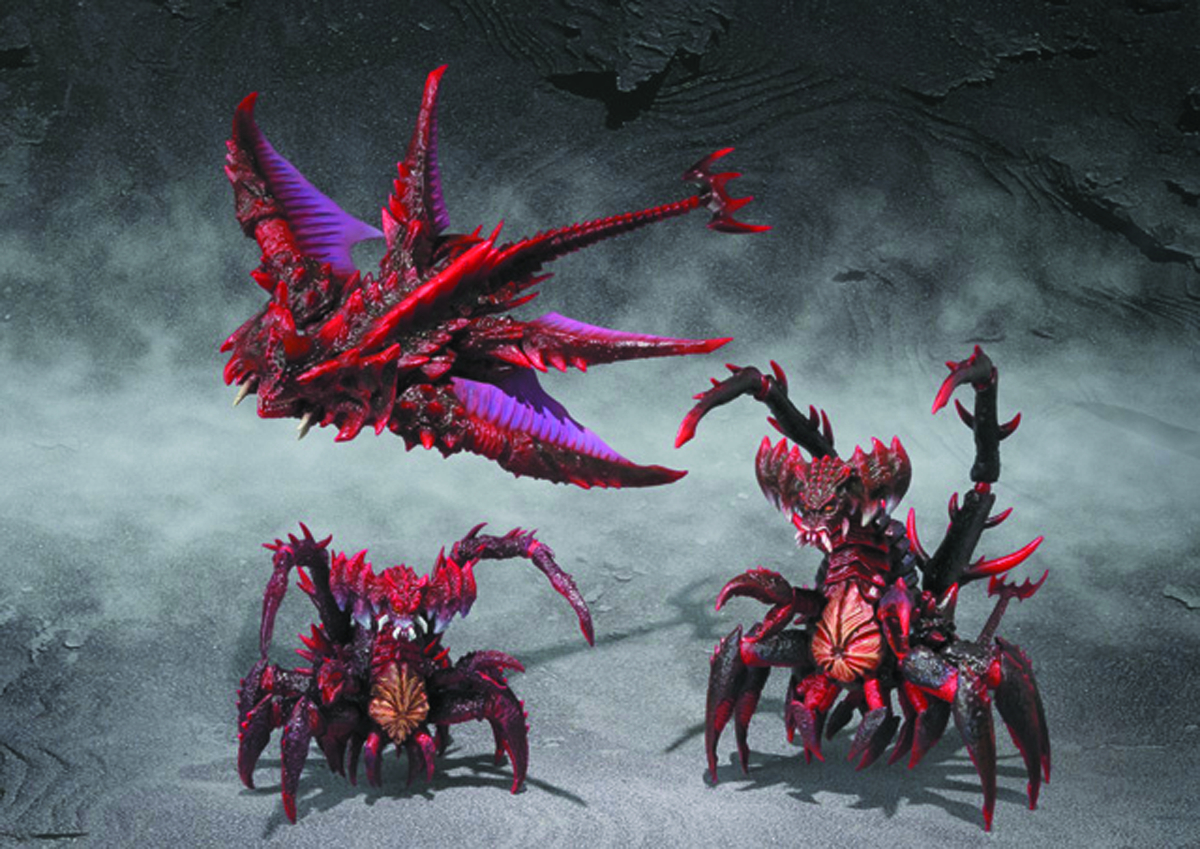 DESTROYAH EVOLUTION S.H.MONSTER ARTS AF SET