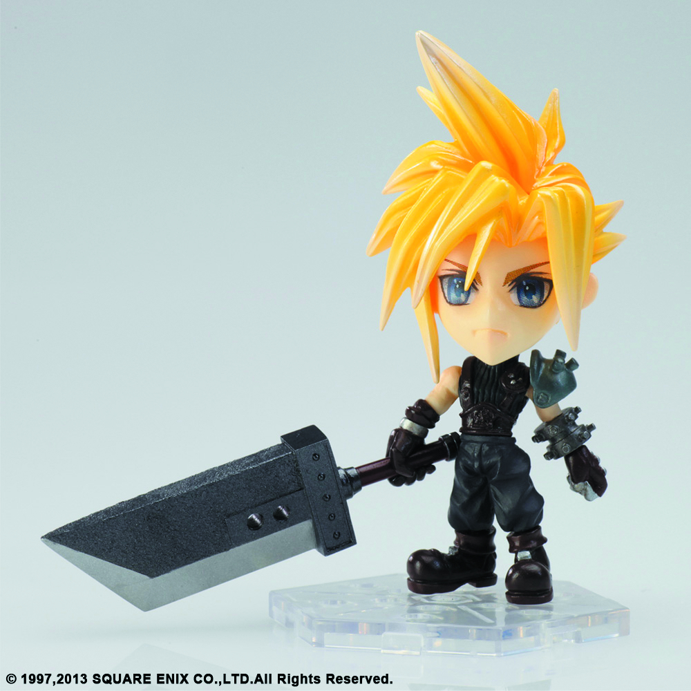 FF TRADING ARTS KAI MINI CLOUD FIG FFVII VER