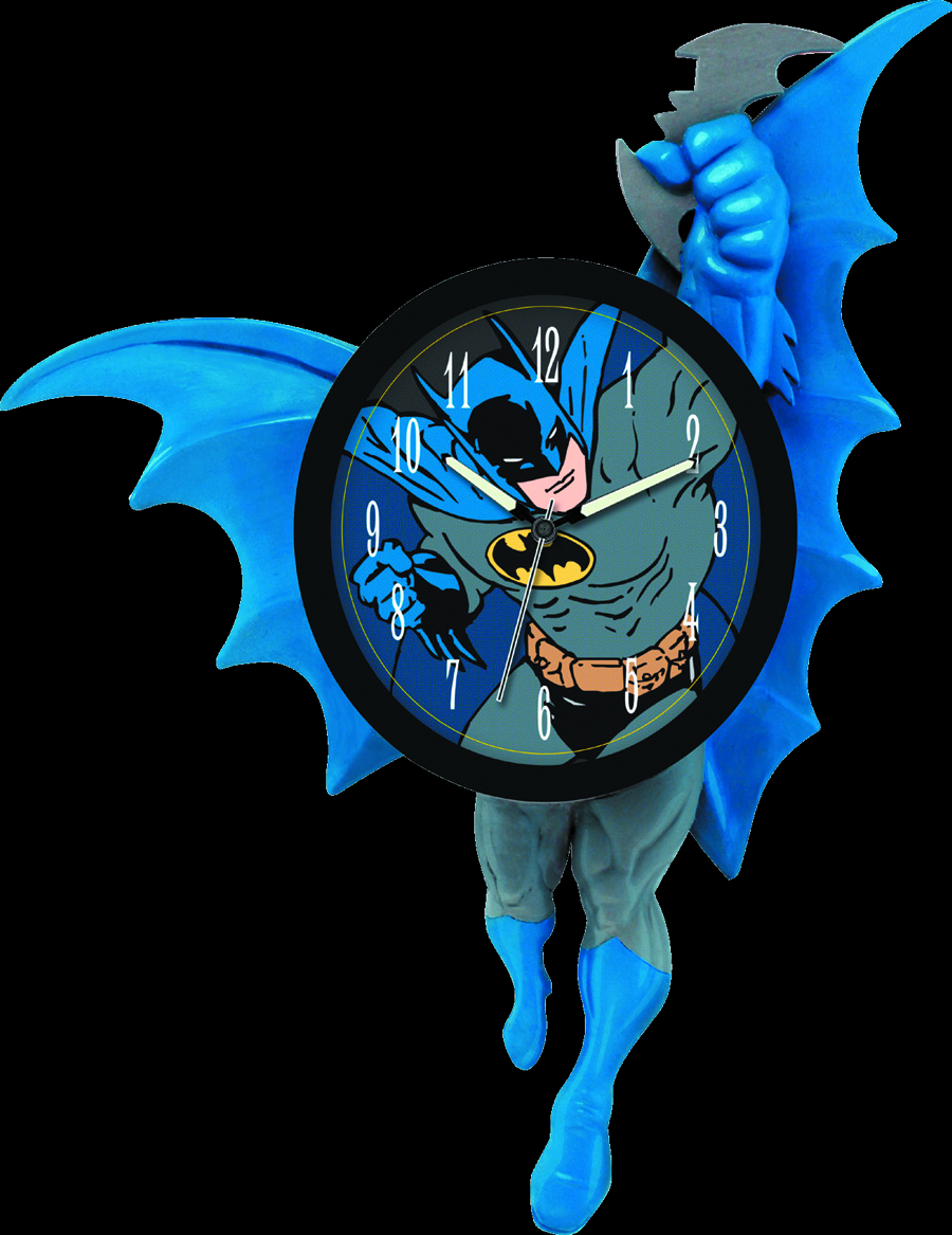 BATMAN 3D MOTION WALL CLOCK