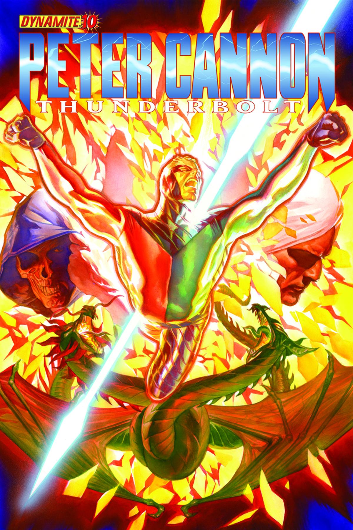 PETER CANNON THUNDERBOLT #10 CVR A ALEX ROSS