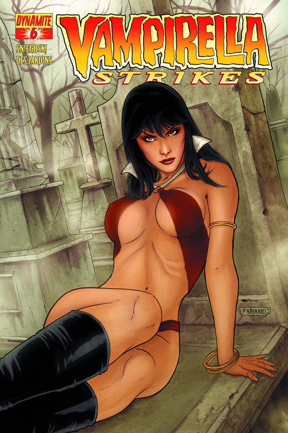 VAMPIRELLA STRIKES #6 CVR B NEVES