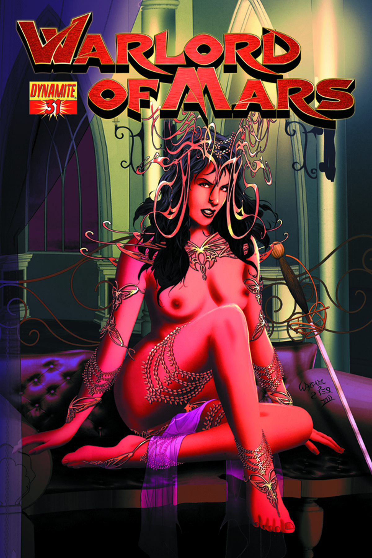 WARLORD OF MARS #31 25 COPY REIS RISQUE INCV