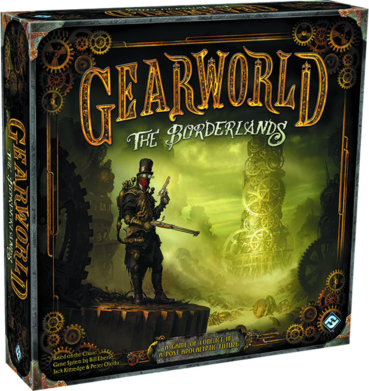 GEARWORLD THE BORDERLANDS BOARD GAME