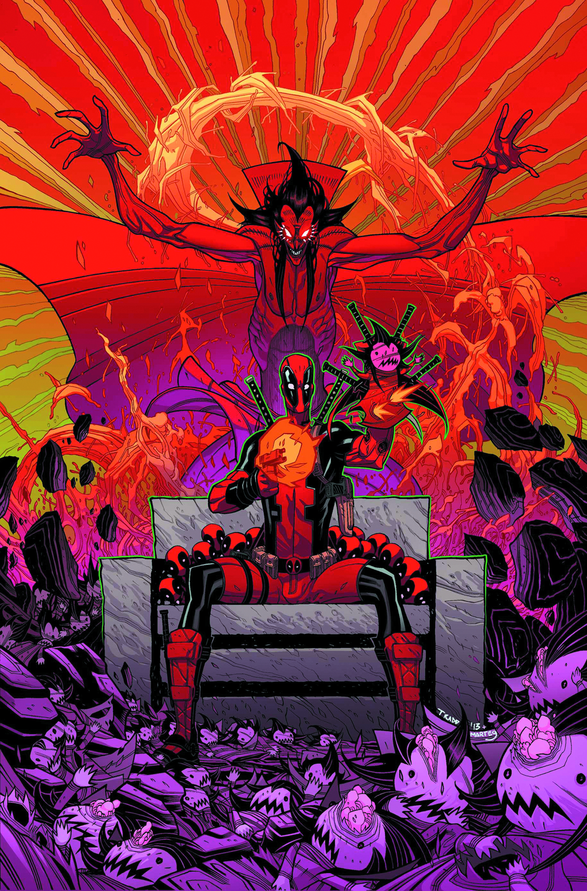 DEADPOOL #12 NOW