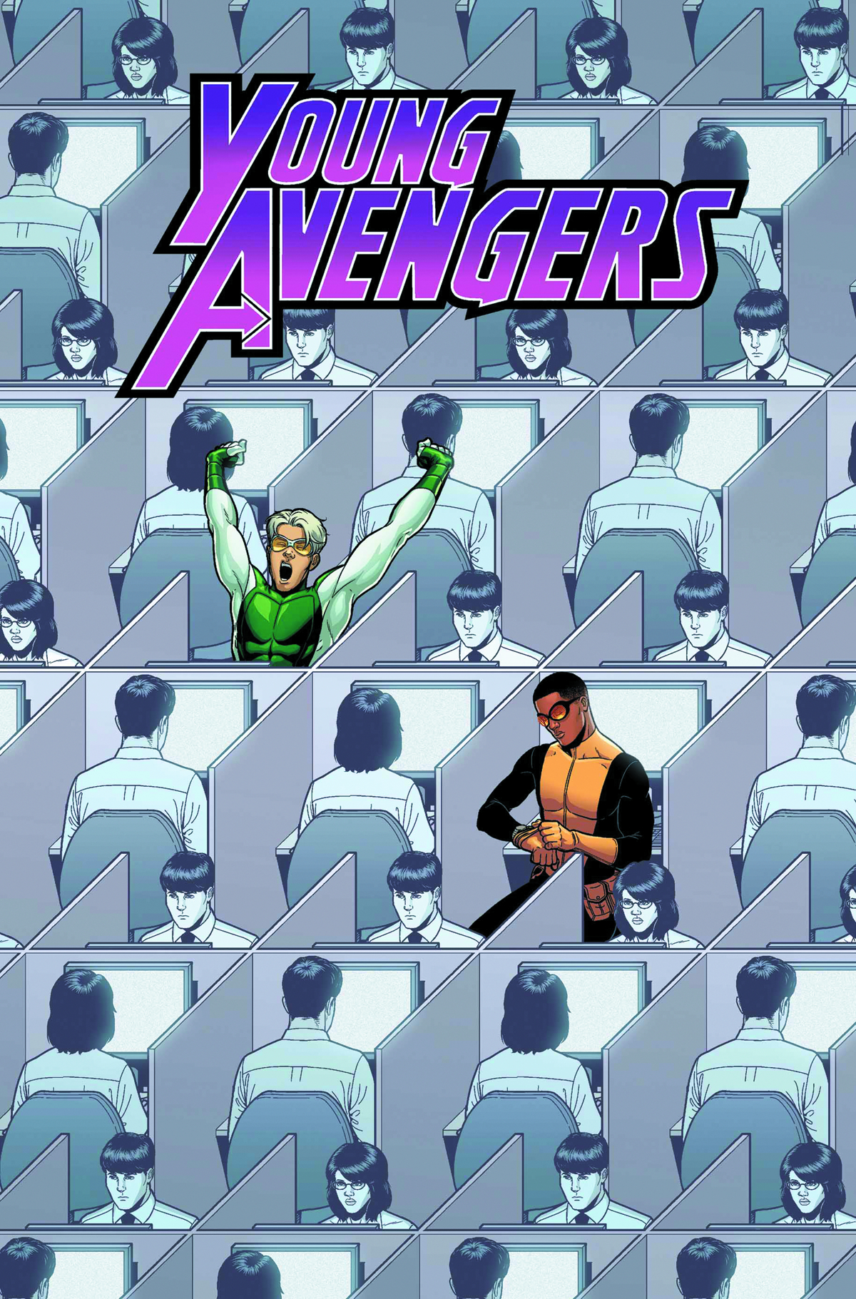 YOUNG AVENGERS #6 NOW