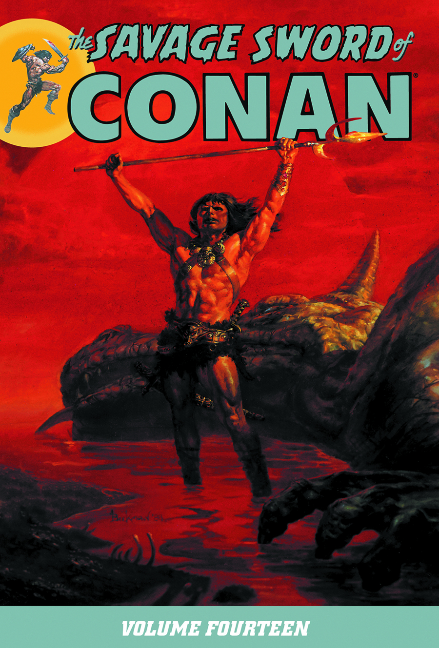 SAVAGE SWORD OF CONAN TP VOL 14