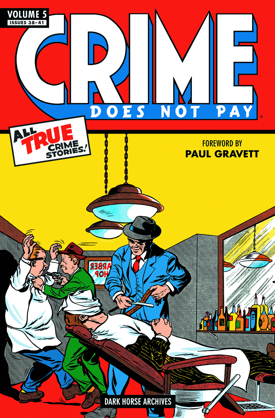 CRIME DOES NOT PAY ARCHIVES HC VOL 05