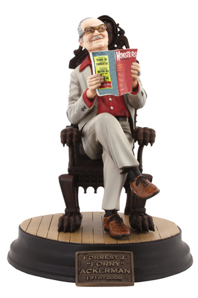 FORREST J FORRY ACKERMAN STATUE