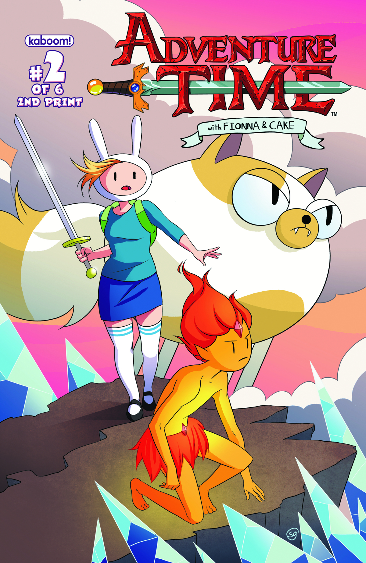 ADVENTURE TIME FIONNA & CAKE #2 (OF 6) 2ND PTG
