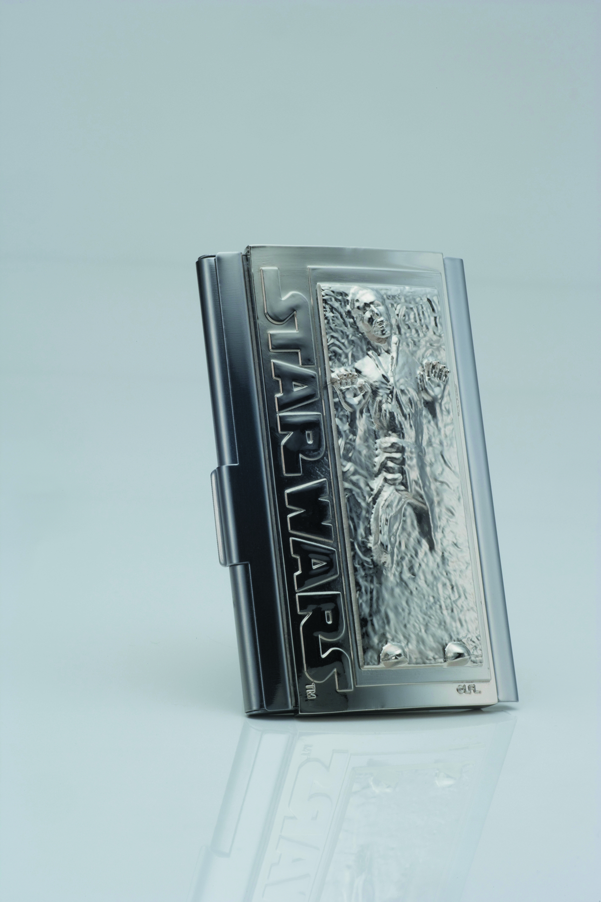 SW HAN SOLO IN CARBONITE BUSINESS CARD HOLDER