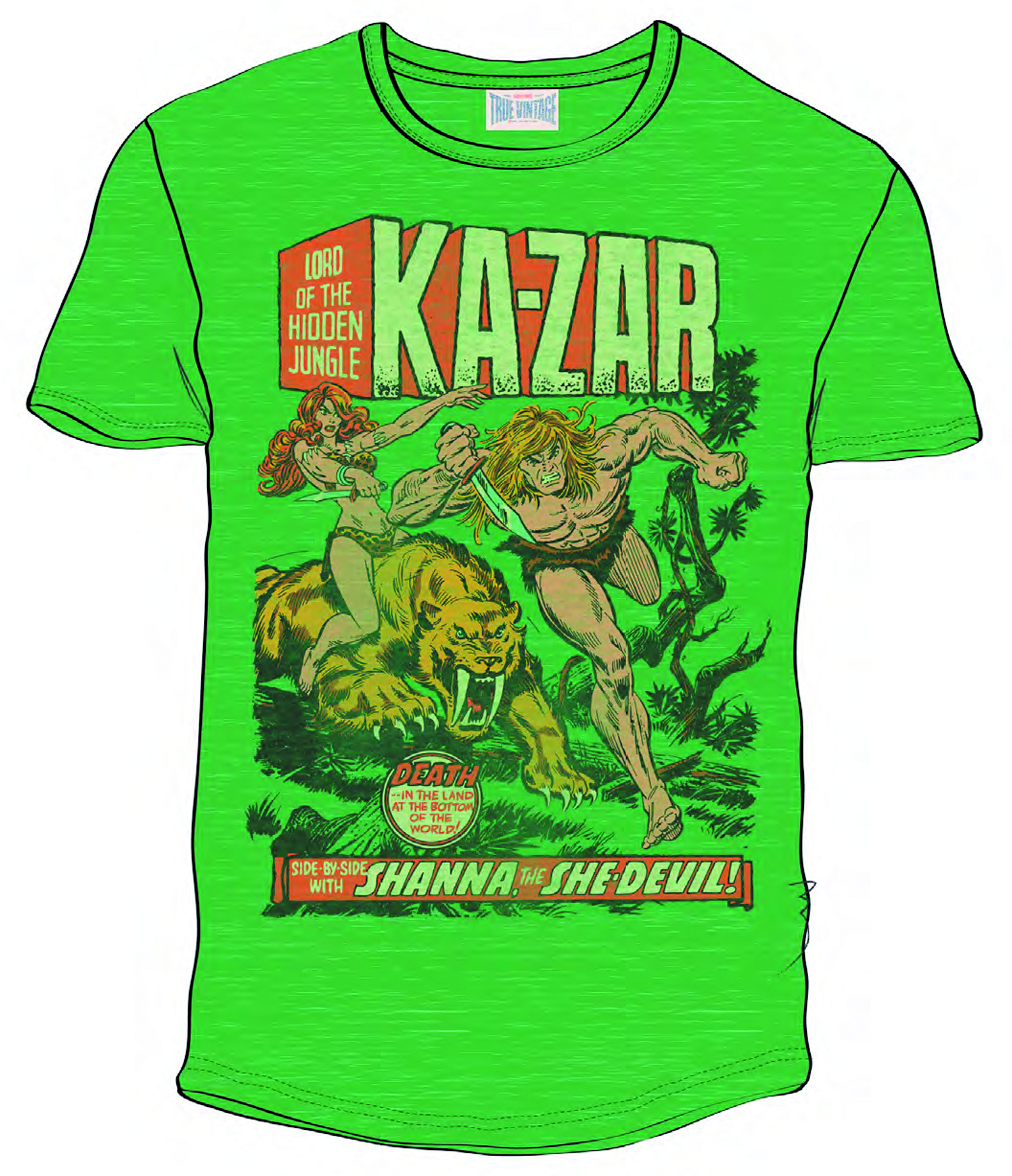 KA-ZAR PX KELLY HEATHER T/S XXL