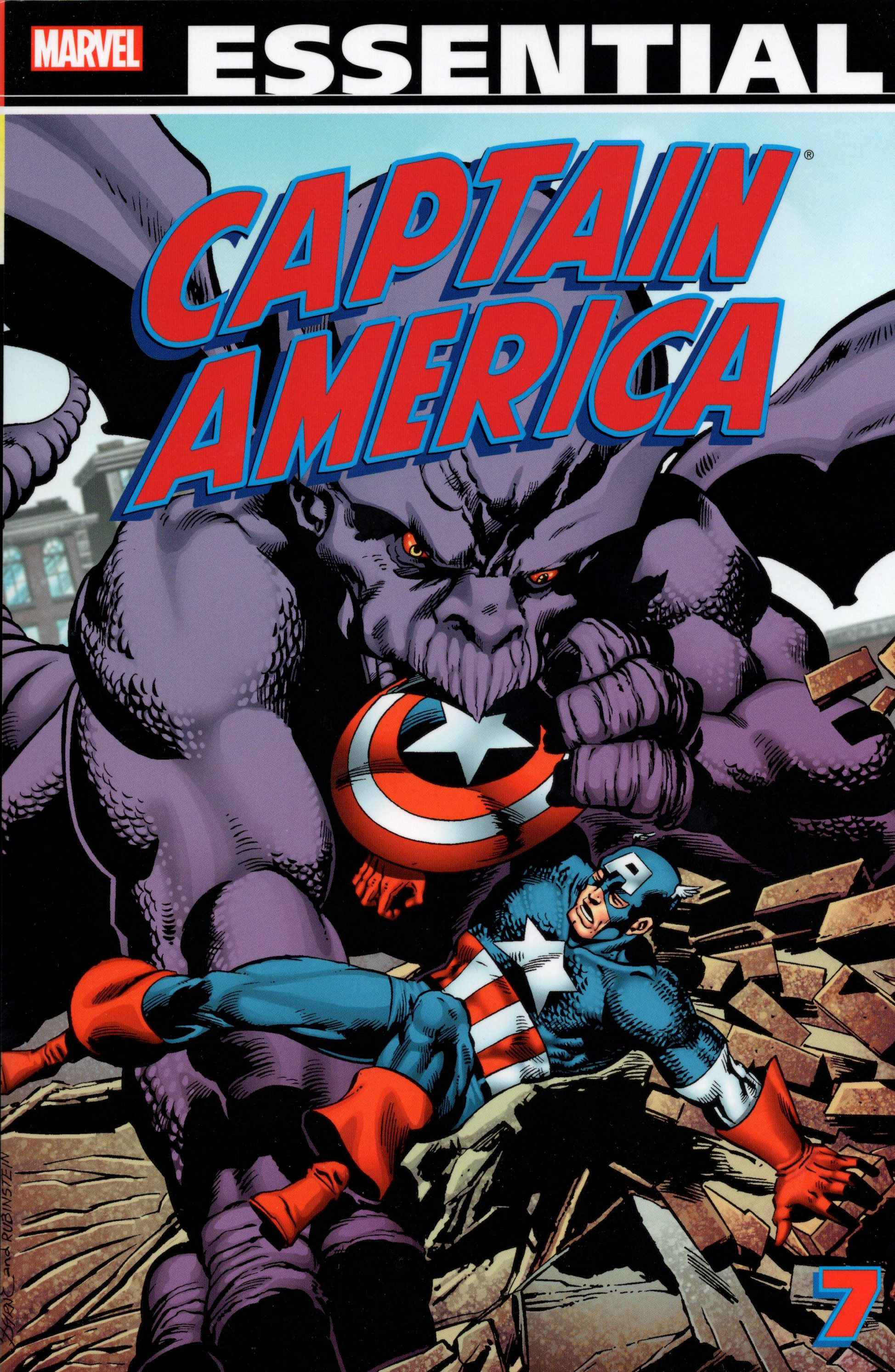 ESSENTIAL CAPTAIN AMERICA TP VOL 07