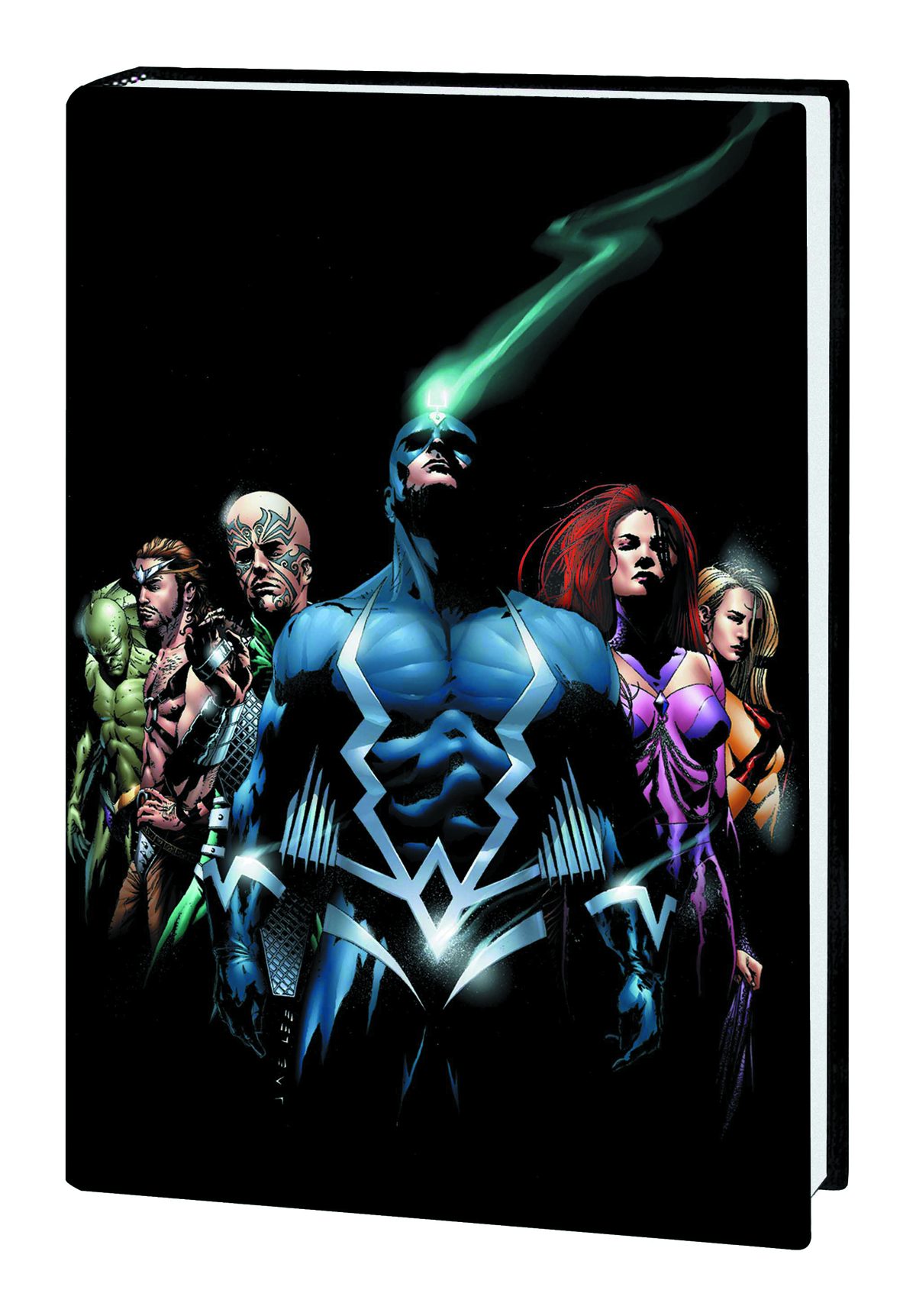 INHUMANS BY PAUL JENKINS AND JAE LEE HC