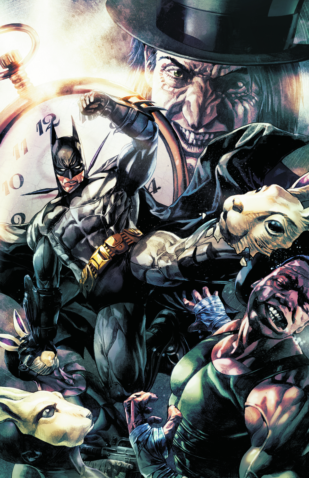 BATMAN ARKHAM UNHINGED HC VOL 02