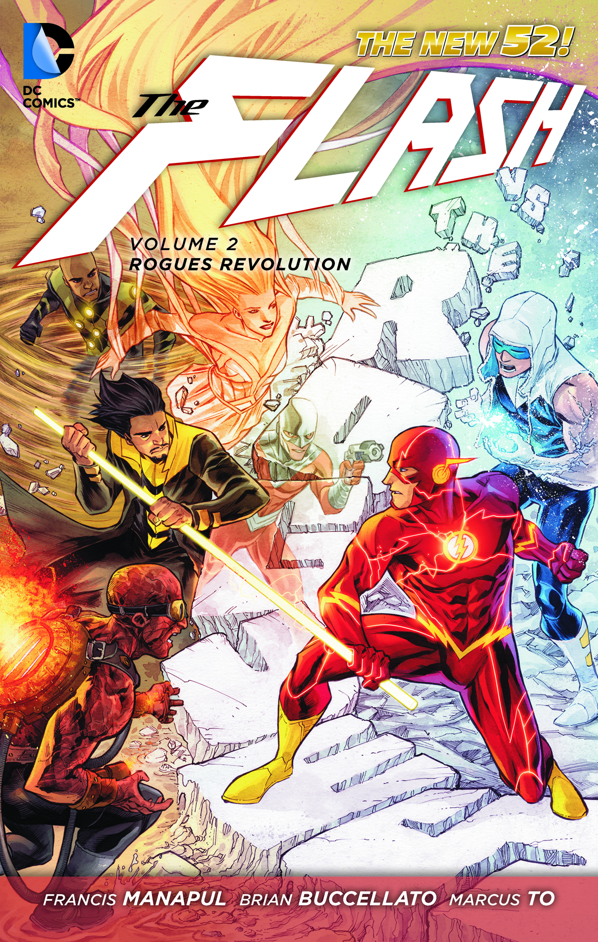 FLASH HC VOL 02 ROGUES REVOLUTION (N52)