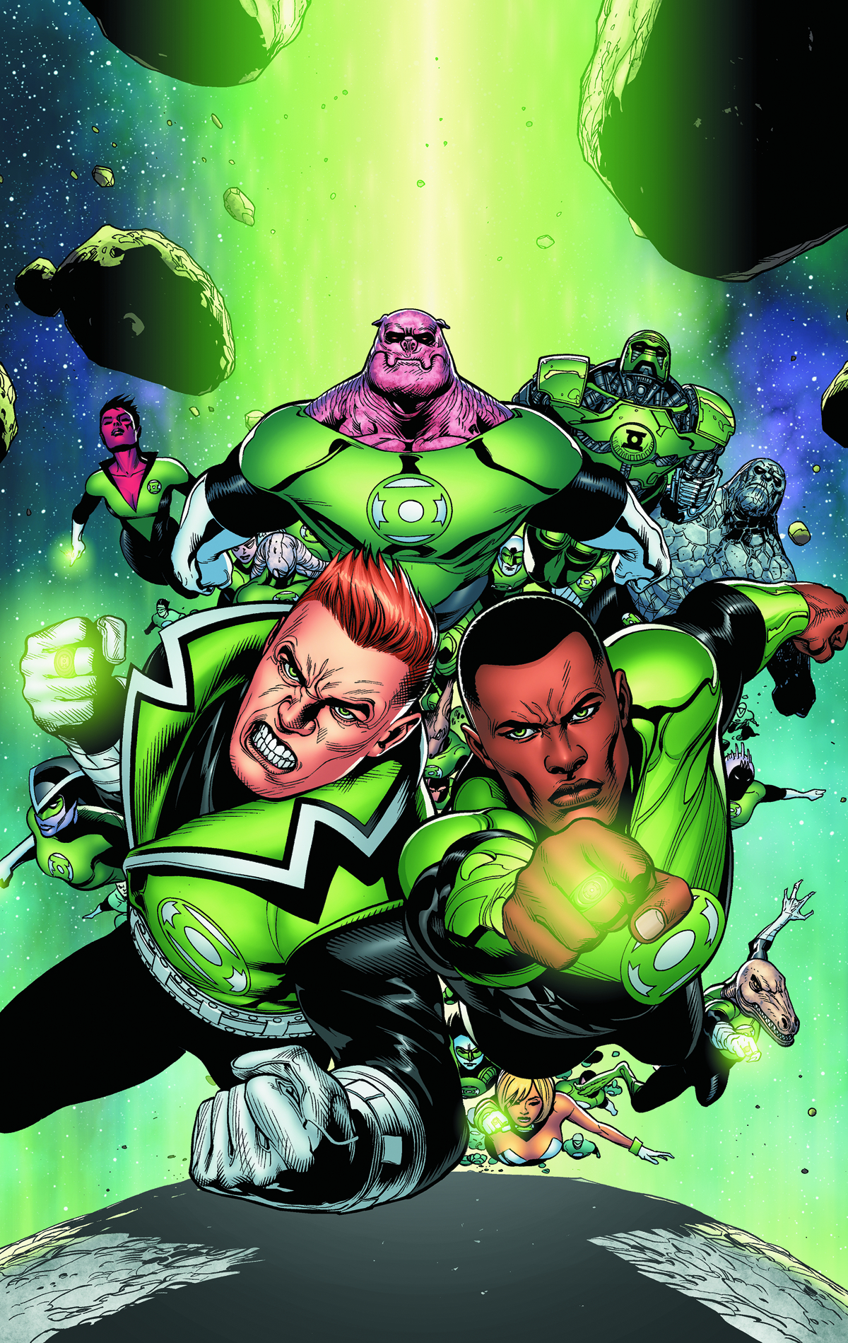 GREEN LANTERN CORPS TP VOL 01 FEARSOME
