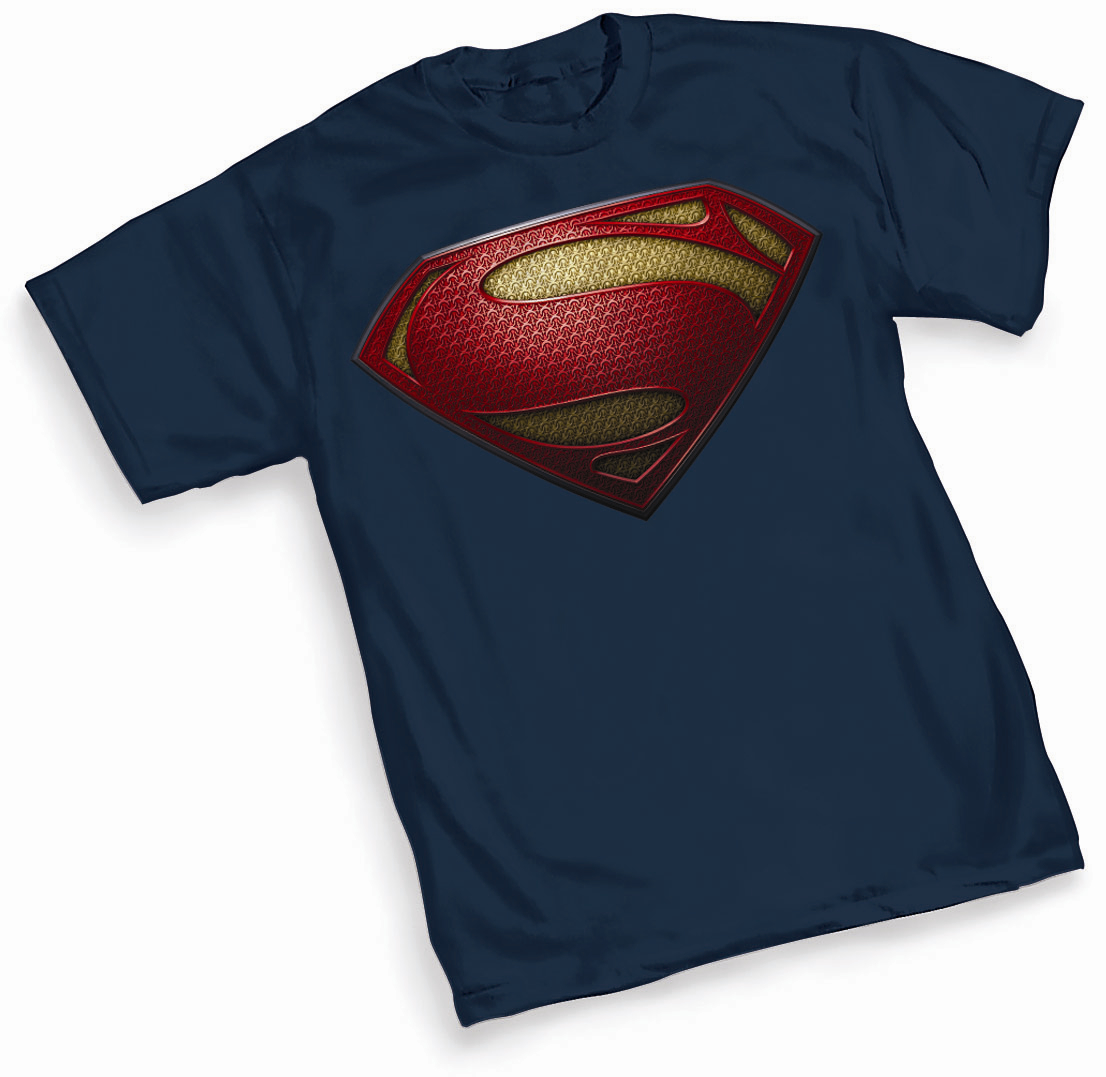 MAN OF STEEL SYMBOL T/S MED