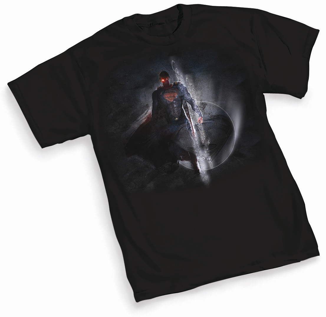 MAN OF STEEL SPACE T/S LG