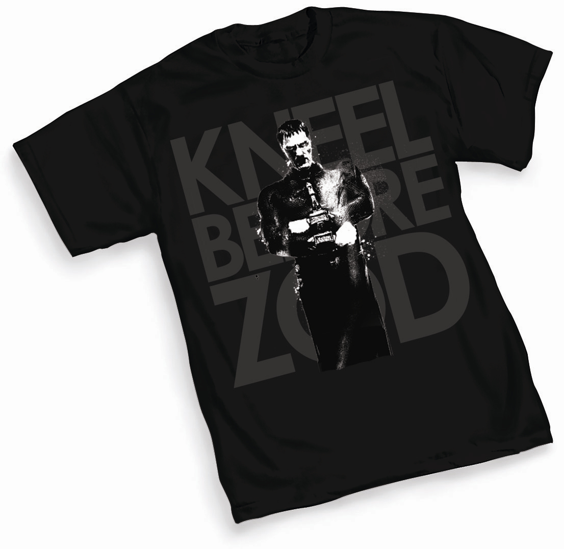 MAN OF STEEL ZOD T/S XXL