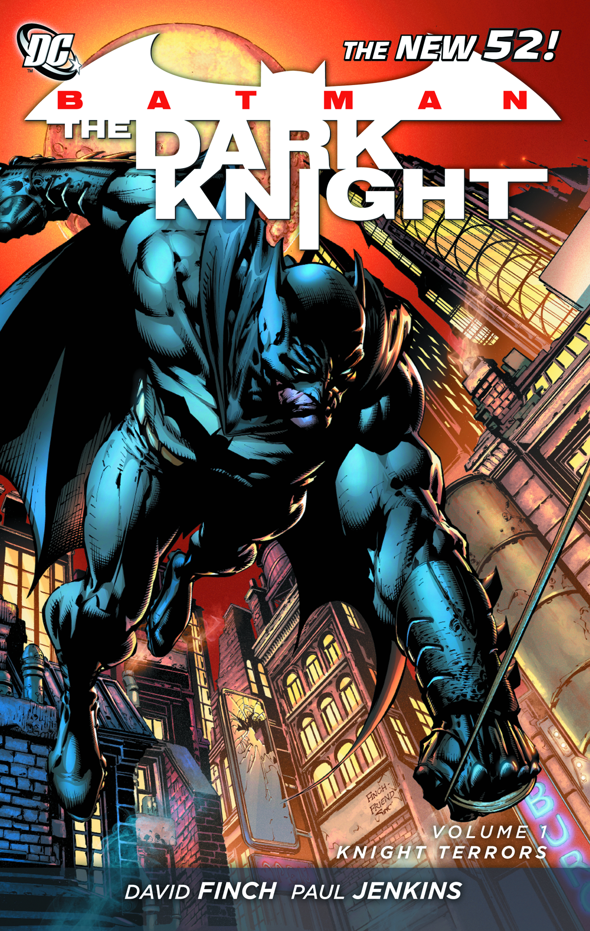 BATMAN DARK KNIGHT TP VOL 01 KNIGHT TERRORS