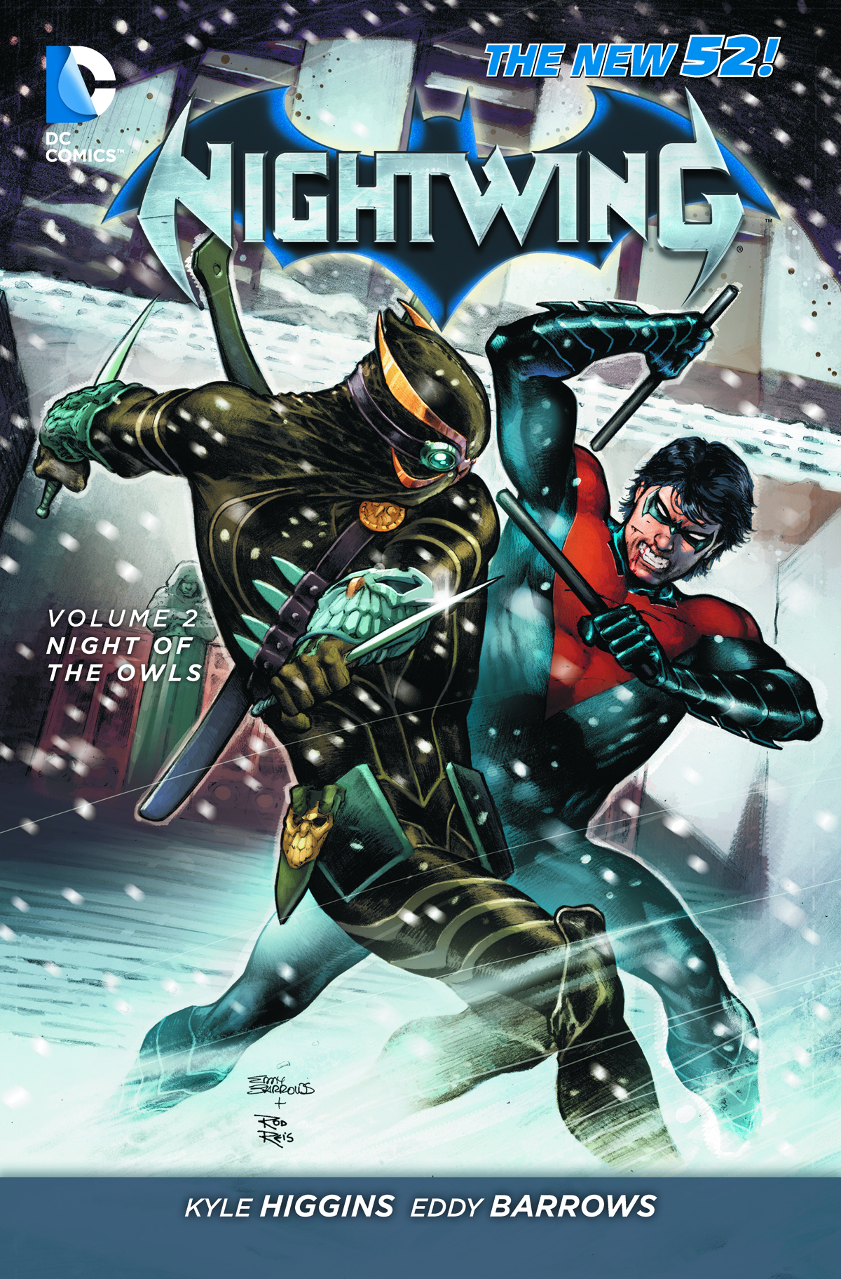 NIGHTWING TP VOL 02 NIGHT OF THE OWLS