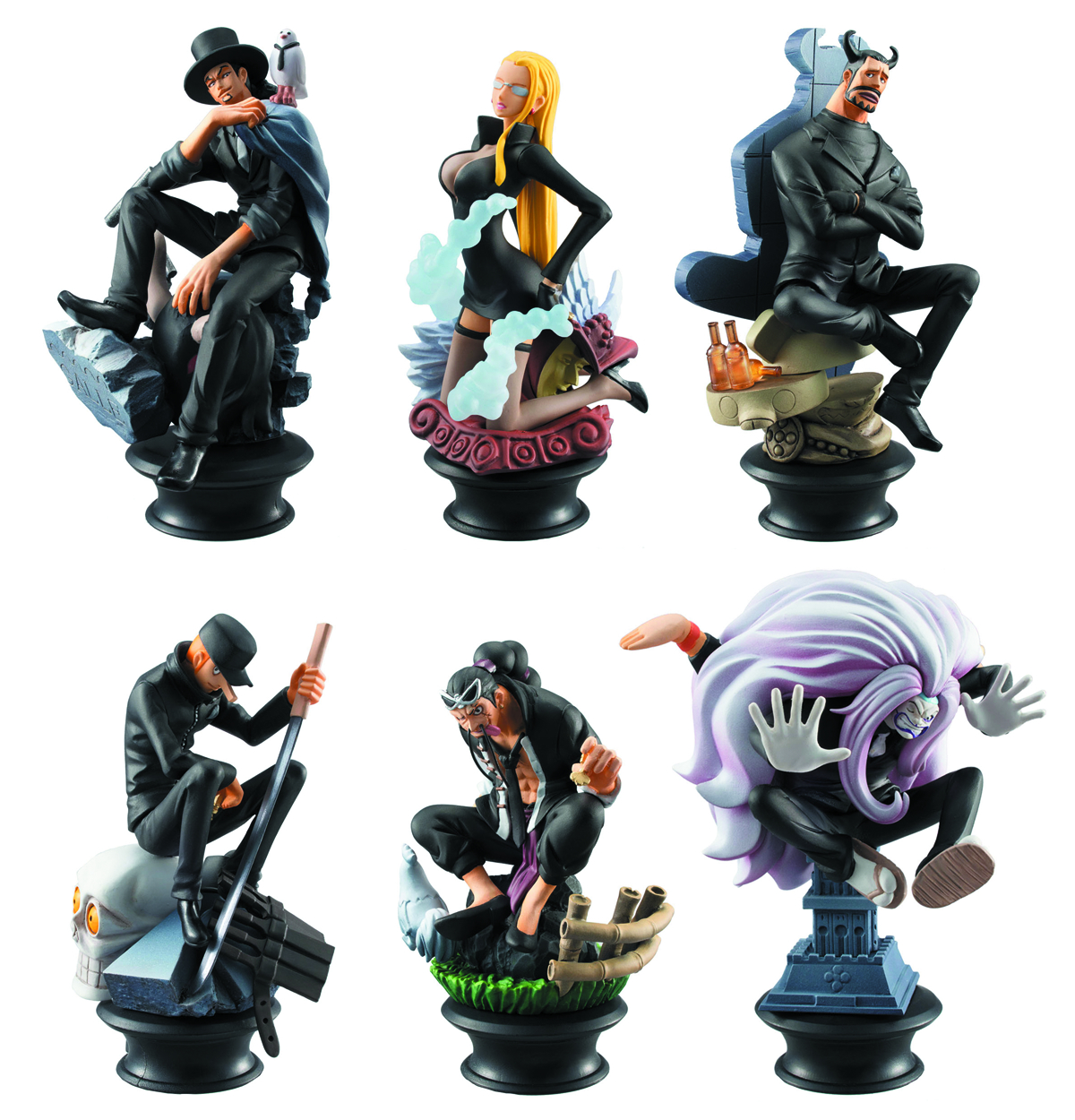 ONE PIECE CHESS PIECE COLL 6PC BMB DS VOL 4