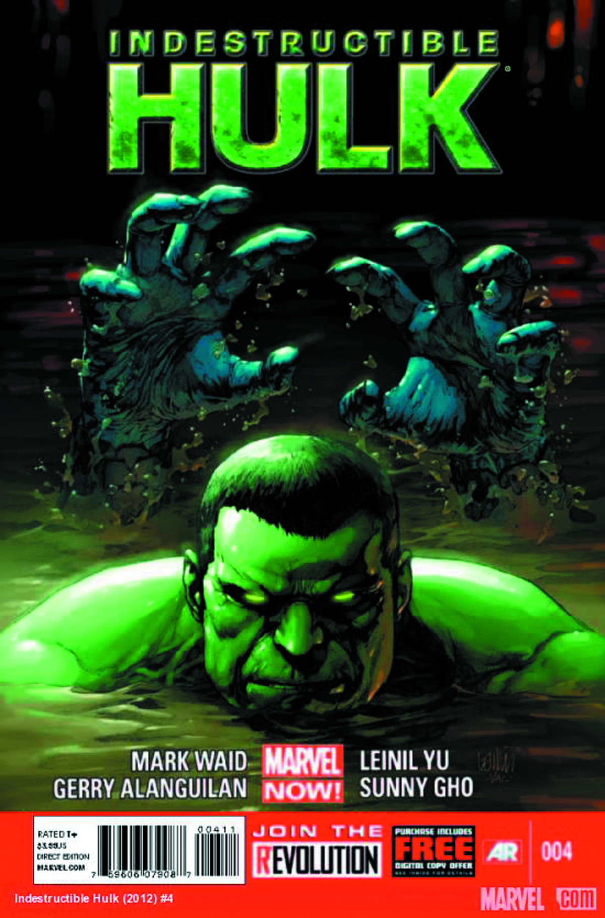 INDESTRUCTIBLE HULK #4 2ND PTG YU VAR NOW