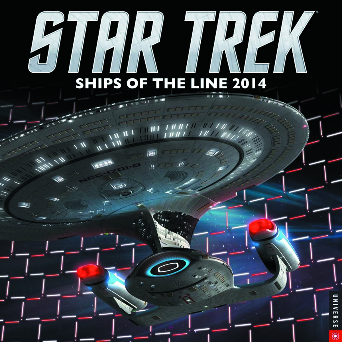 STAR TREK SHIPS OF LINE 2014 WALL CALENDAR