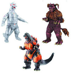GODZILLA 6-IN COLLECTIBLE FIGURE 2013 ASST
