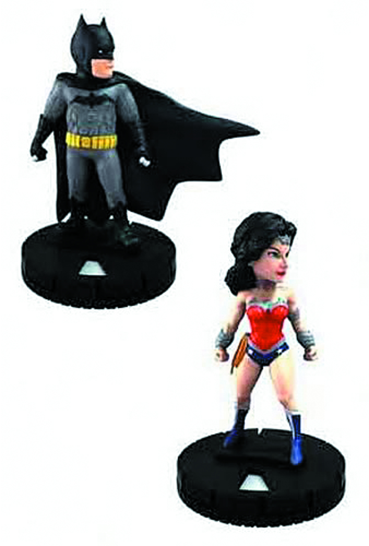 DC HEROCLIX BATMAN & WONDER WOMAN TAB APP ELITE 2PK