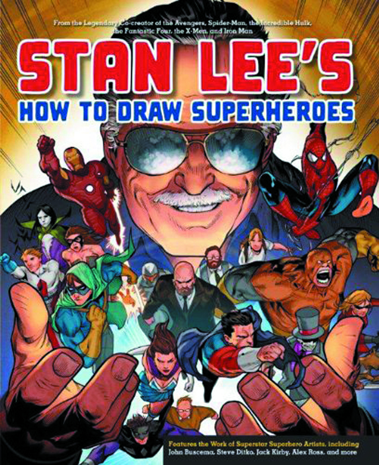 STAN LEES HOW TO DRAW SUPERHEROES SC