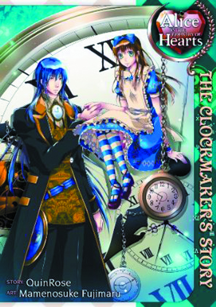 ALICE I/T COUNTRY OF HEARTS CLOCKMAKERS STORY GN VOL 01