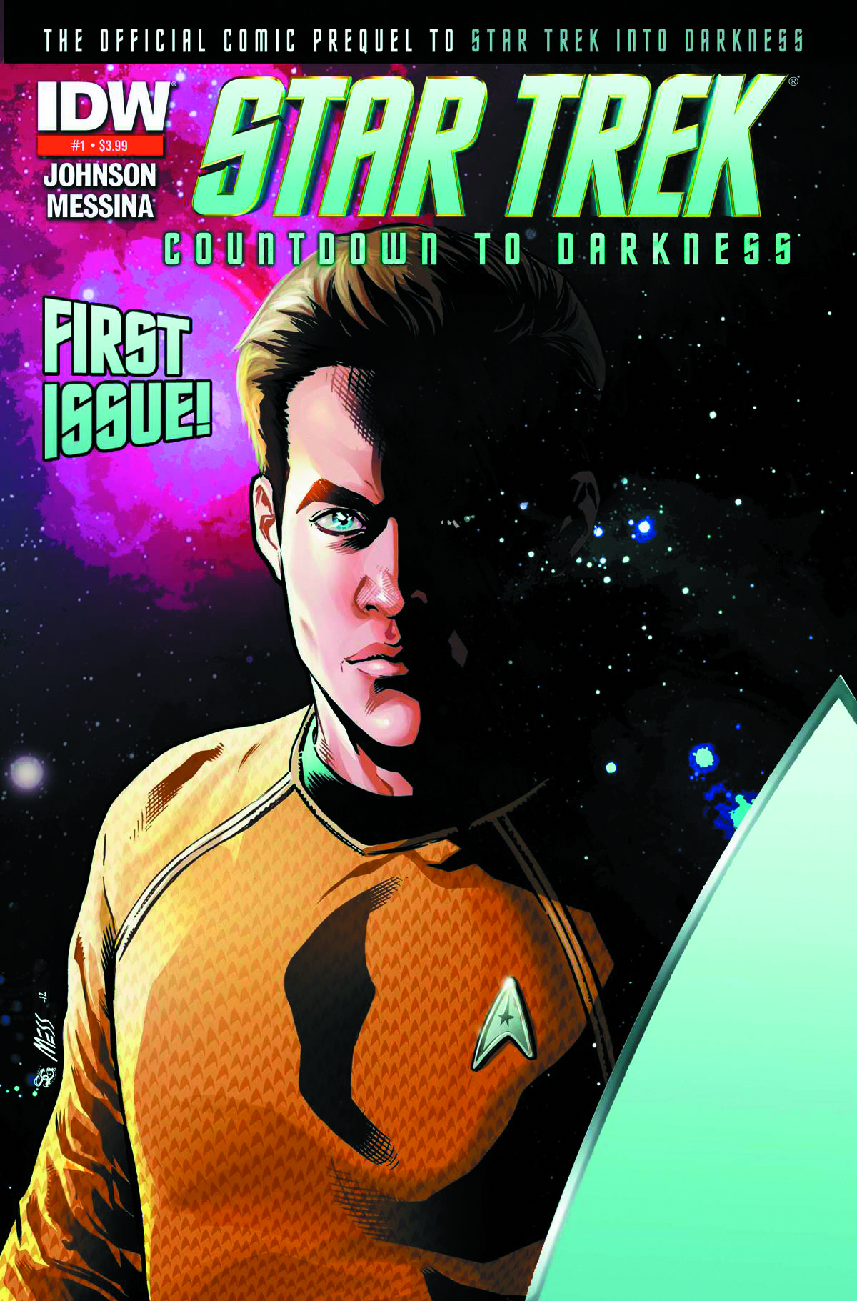 STAR TREK COUNTDOWN TO DARKNESS #1 3RD PTG