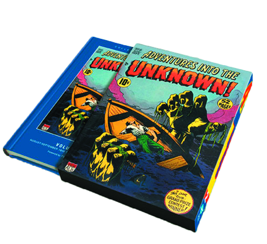 ACG COLL WORKS ADV INTO UNKNOWN SLIPCASE ED VOL 02
