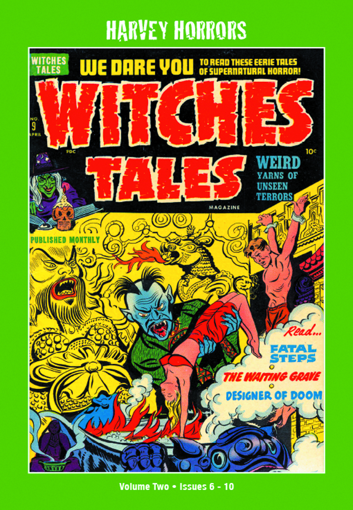 HARVEY HORRORS WITCHES TALES SOFTIE TP VOL 02