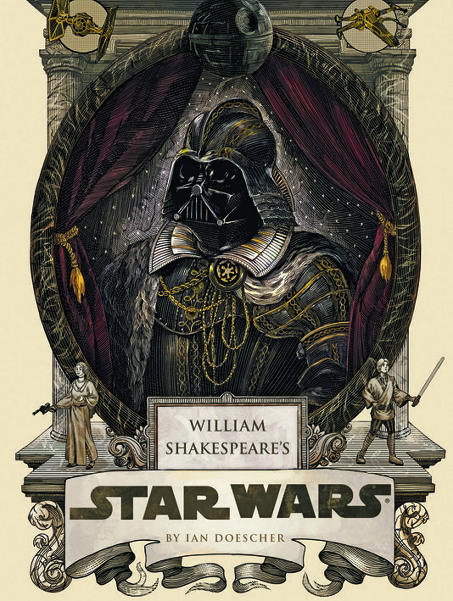 WILLIAM SHAKESPEARE STAR WARS HC