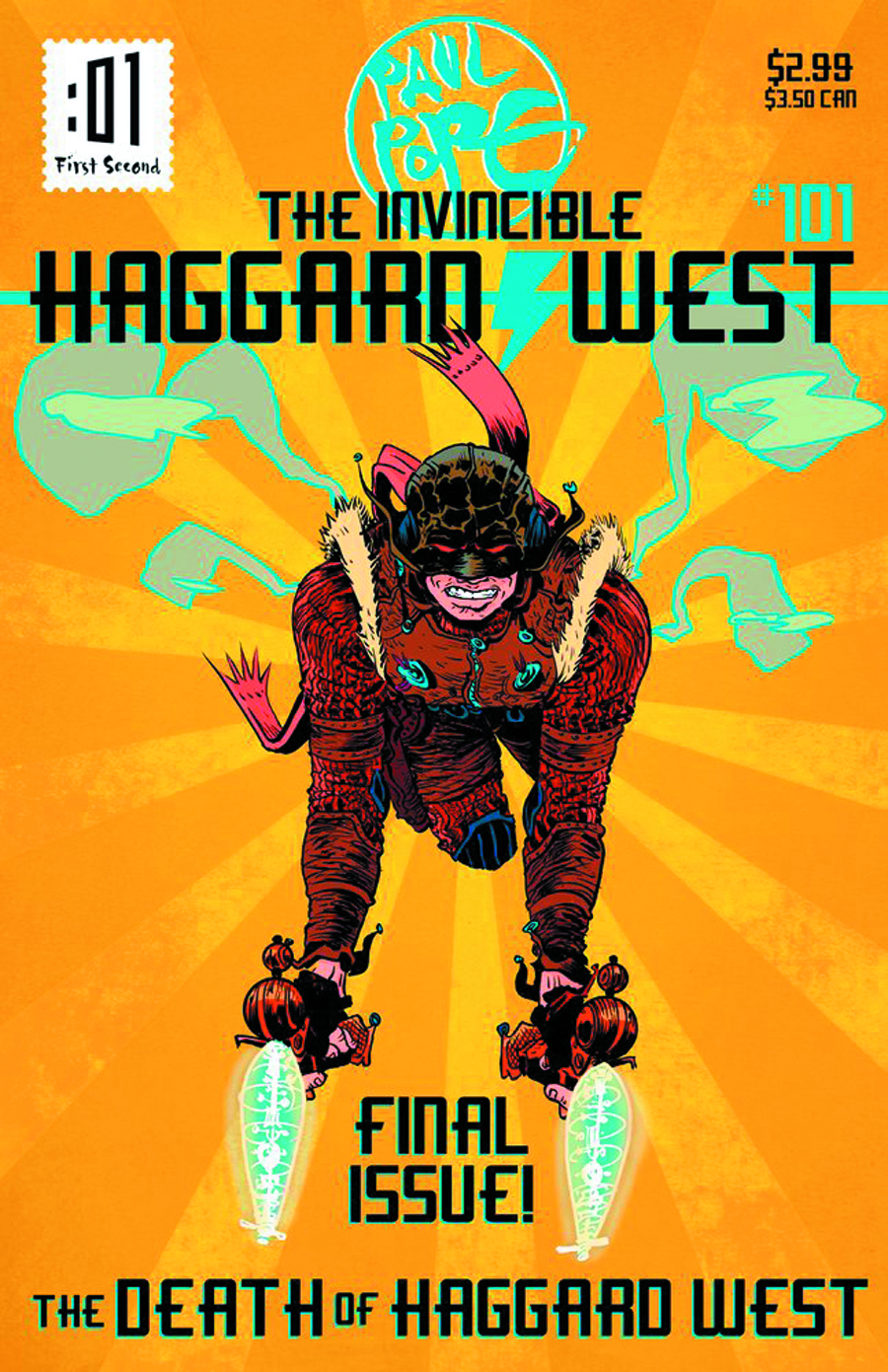 DEATH OF HAGGARD WEST ONE SHOT