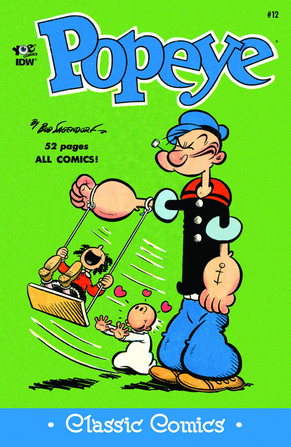 POPEYE CLASSICS ONGOING #12