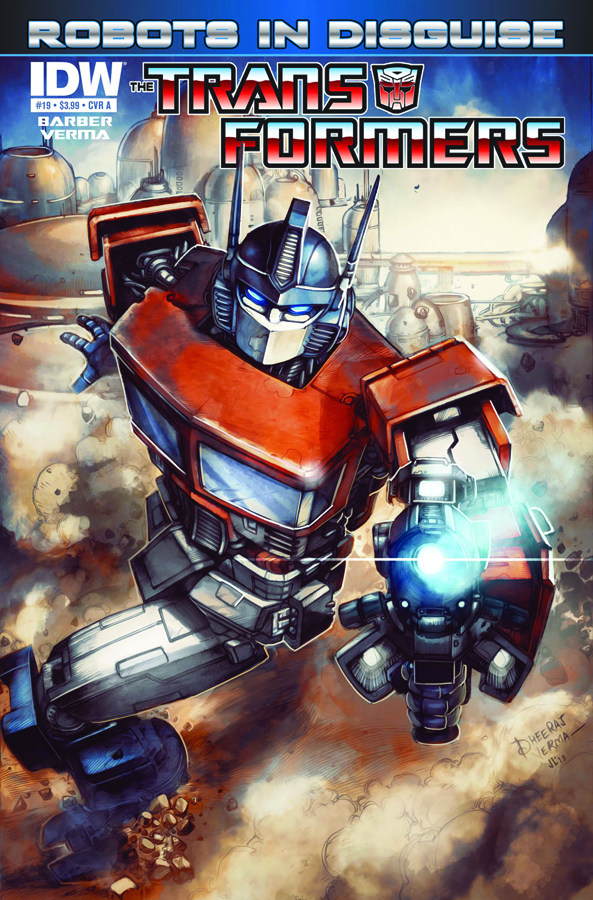 TRANSFORMERS ROBOTS IN DISGUISE #19