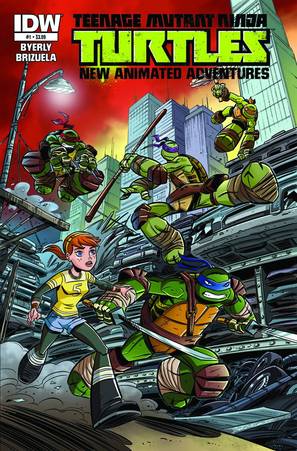TMNT NEW ANIMATED ADVENTURES #1