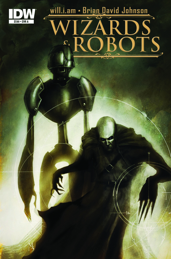 WIZARDS & ROBOTS ONE SHOT