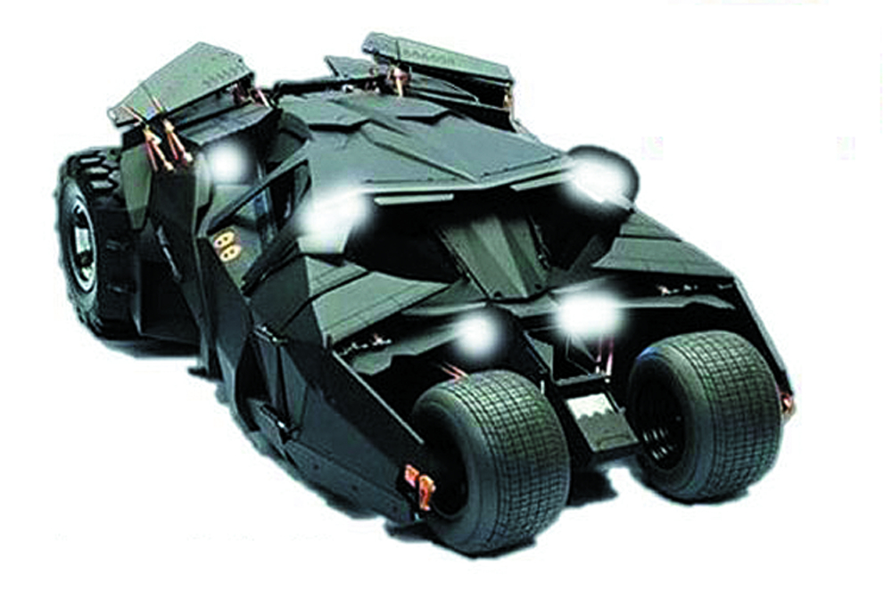 DARK KNIGHT RISES TUMBLER PLASTIC MODEL KIT