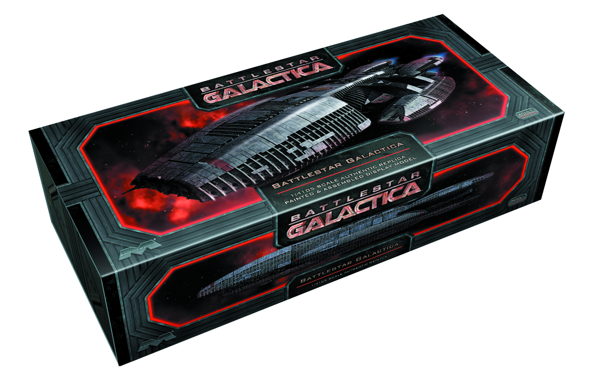 BSG GALACTICA FINISHED MODEL KIT