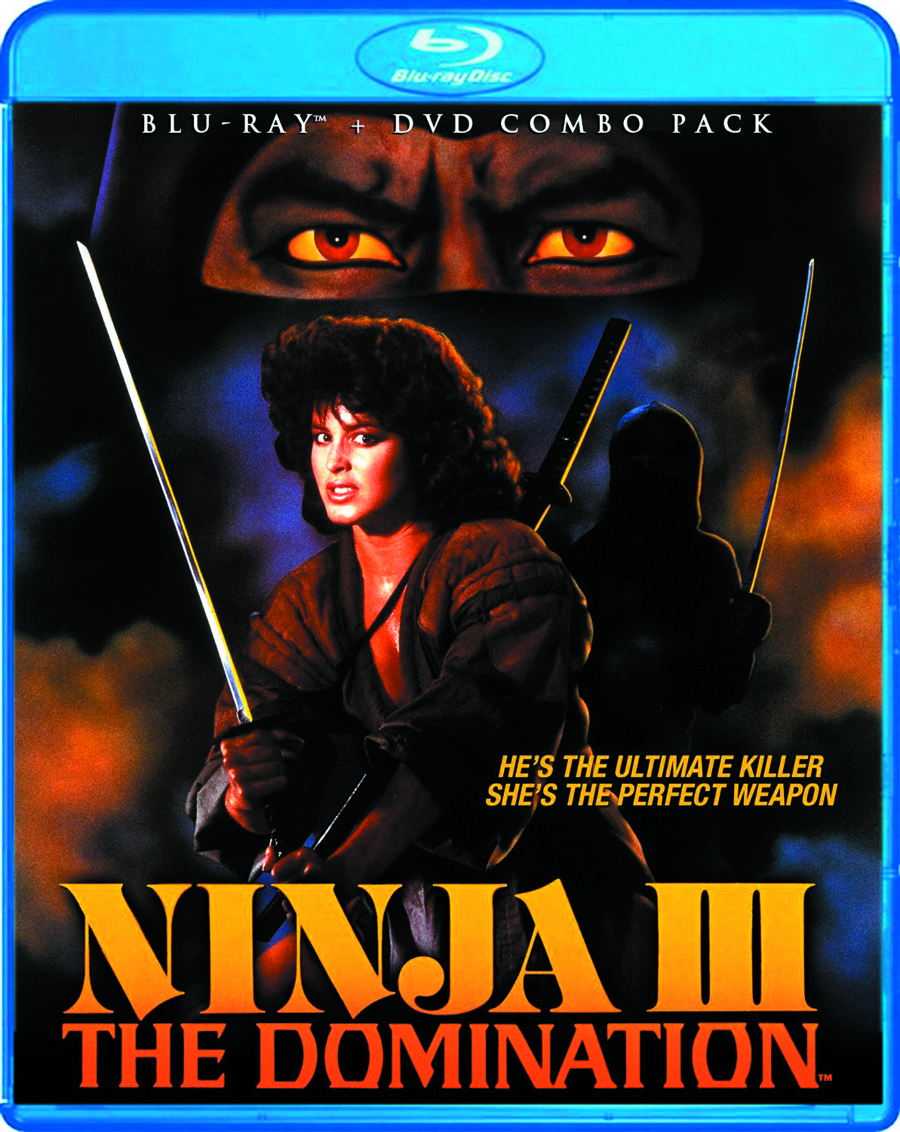 NINJA III THE DOMINATION BD + DVD