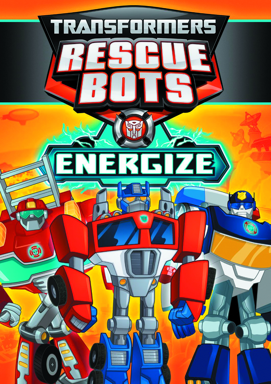 TRANSFORMERS RESCUE BOTS ENERGIZE DVD